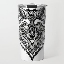 Spirit Wolf Travel Mug