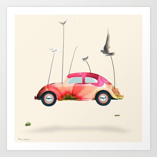 cars  Art Print