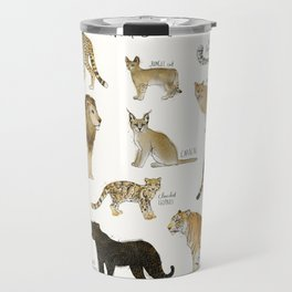 Wild Cats Travel Mug