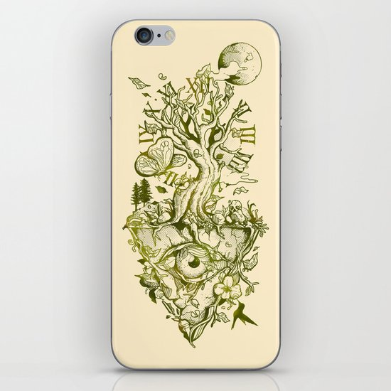 A Glimpse in Time iPhone & iPod Skin