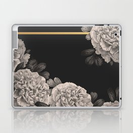 Flowers on a winter night Laptop & iPad Skin