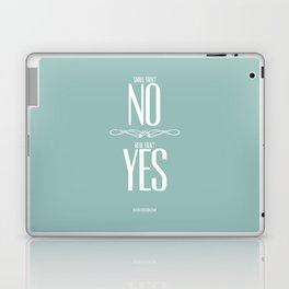 0002: Small Talk vs Real Talk Laptop & iPad Skin