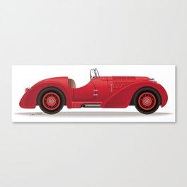 1930s Sports Car Canvas Print