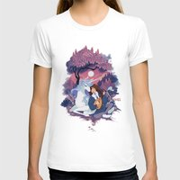 the last unicorn T-shirts featuring Last Unicorn + Dan Avidan by Stephanie Kao