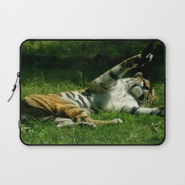 Resting Tiger Laptop Sleeve