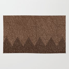 Cowhide two color Rug