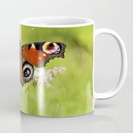The European peacock butterfly Coffee Mug