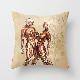 Our Bodies are One. Throw Pillow