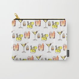 Watercolor Drinks Carry-All Pouch