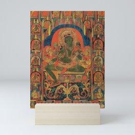 Hindu Krishna Tapestry Mini Art Print