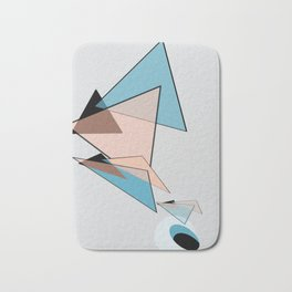 Abstract 2018 009 Bath Mat