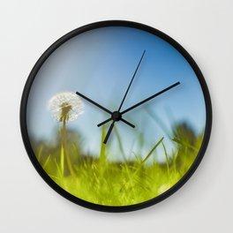 Blue & Green & Dandy Wall Clock