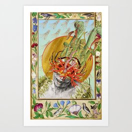 this is fine by bedelgeuse Art Print