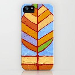 Winter Leaf iPhone Case