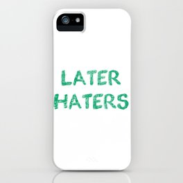 Just Because Im Smiliing (44) iPhone Case