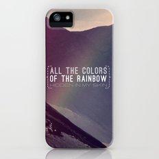 Rainbow Slim Case iPhone (5, 5s)