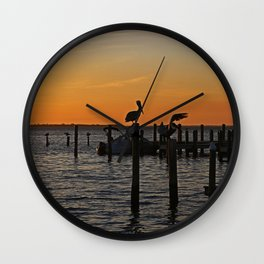 Downtown Dive Wall Clock