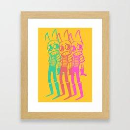 Zizmizmim Framed Art Print