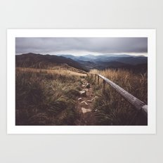Restless Wanderer Art Print