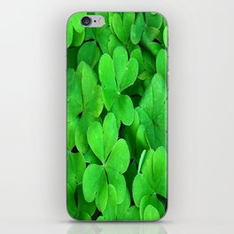Lucky Four Leaf Clover iPhone Skin