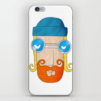 jack daniels iPhone & iPod Skins featuring Jack by marcusmelton