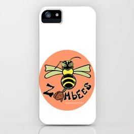 Zombee iPhone Case