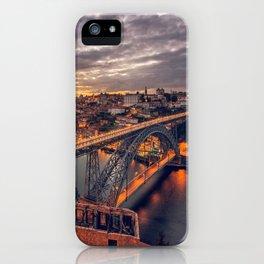 Stormy Porto iPhone Case
