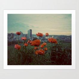 Pittsburgh VI Art Print