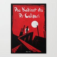 Das Kabinett Des Dr Caligari Canvas Print