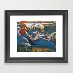 Like A Ghost In A Shell Framed Art Print