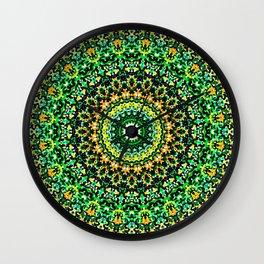 Mosaic Kaleidoscope 1 Wall Clock