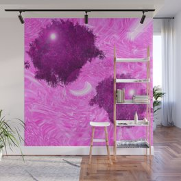 tree it Pink Wall Mural