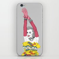 monroe iPhone & iPod Skins featuring MONROE by Agnes Domokos