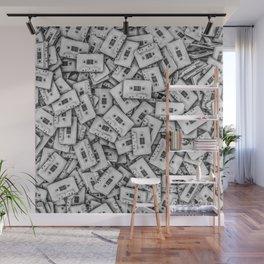 Cassettes Wall Mural