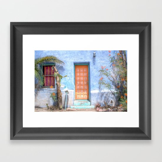 Barrio Viejo  Framed Art Print