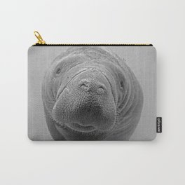 Manatee B&W Carry-All Pouch
