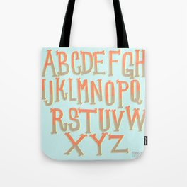 the ABC's Tote Bag