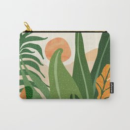 Desert Garden Sunset Carry-All Pouch