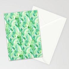 Fern Palm Green Stationery Cards
