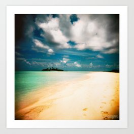 Maldives 01 05 Art Print