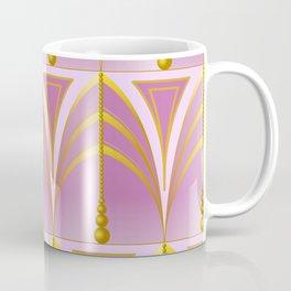 Art Deco - Dusty Purple Coffee Mug