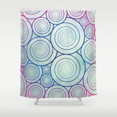A Plethora of Curls Shower Curtain
