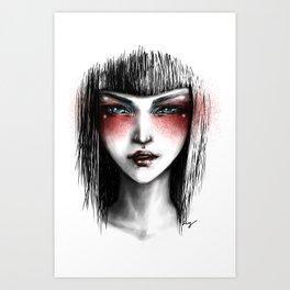 The White Lady Art Print