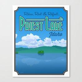 Landmarks of Life: Priest Lake, Idaho Canvas Print