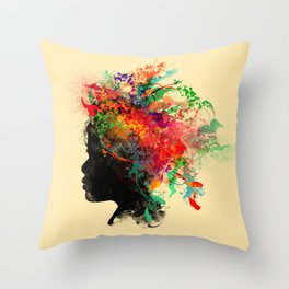 Wildchild Throw Pillow