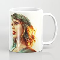 girl Mugs featuring When the Sun Came Up by Alice X. Zhang