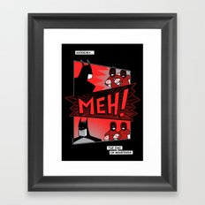 Batmeh Framed Art Print