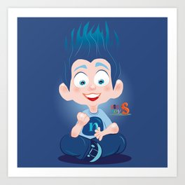 Nuly/Character & Art Toy design for fun Art Print