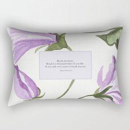 Break my heart. Maxon Schreave. The Selection. Rectangular Pillow