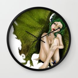 GIL fallen Angel Wall Clock